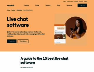 zopim.com screenshot