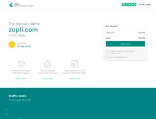 zopli.com screenshot