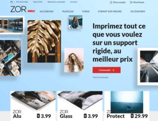 zor.com screenshot