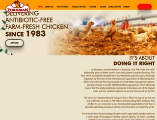 zorabian.com screenshot