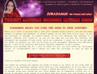 zoradamusmedium.com screenshot