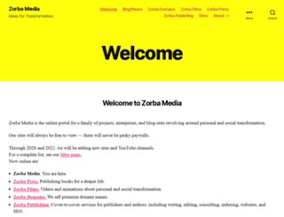 zorbamedia.com screenshot