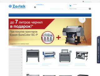 zortek.ru screenshot