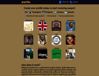 zortin.com screenshot
