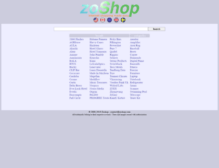 zoshop.com screenshot