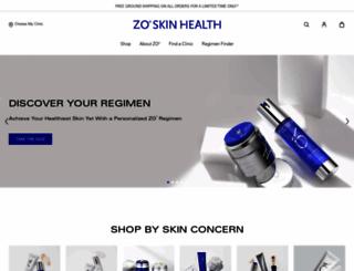 zoskinhealth.com screenshot