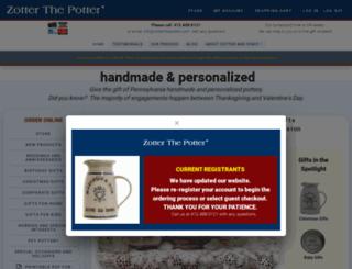 zotterthepotter.com screenshot