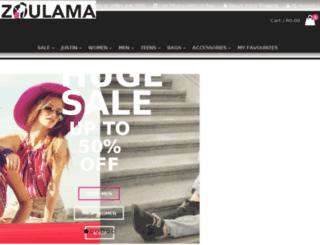 zoulama.co.za screenshot