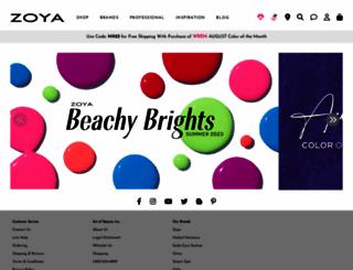zoya.com screenshot