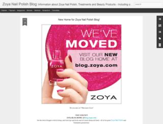 zoyanailpolish.blogspot.com screenshot