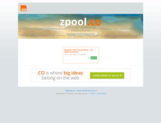 zpool.co screenshot