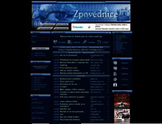 zpovednice.cz screenshot