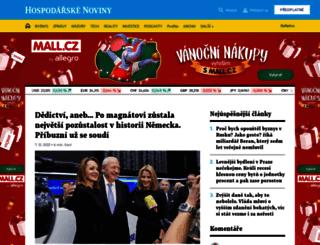 zpravy.ihned.cz screenshot