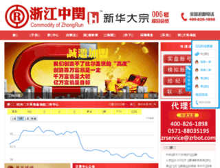 zrbot.cn screenshot