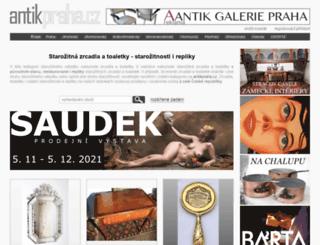zrcadla-toaletky.antikpraha.cz screenshot