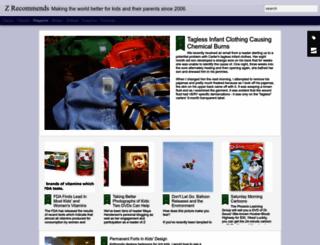 zrecommends.com screenshot
