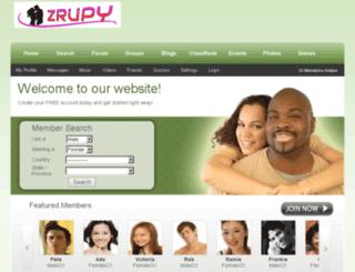 zrupy.com screenshot