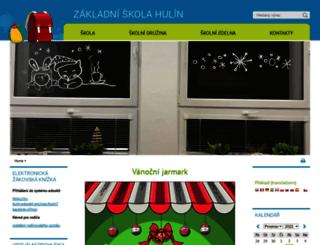 zs-hulin.webnode.cz screenshot
