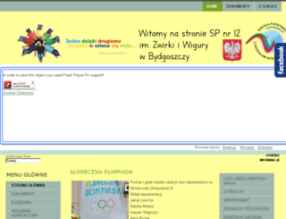 zs14.bydgoszcz.pl screenshot