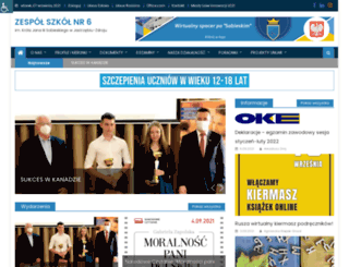 zs6sobieski.pl screenshot