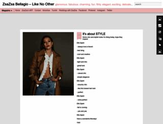 zsazsabellagio.blogspot.ca screenshot