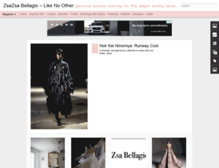 zsazsabellagio.blogspot.com screenshot