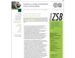 zsb.uni-halle.de screenshot