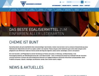 zschimmer-schwarz.de screenshot