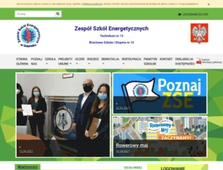 zse.gda.pl screenshot