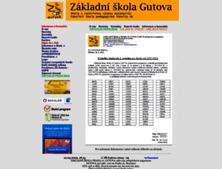 zsgutova.cz screenshot