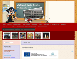 zsjevicko.cz screenshot