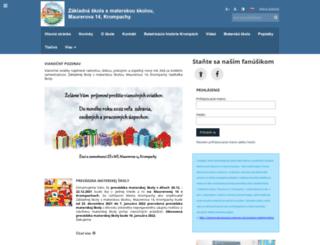 zskrompachymaurerova.edupage.org screenshot