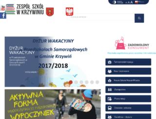 zskrzywin.internetdsl.pl screenshot