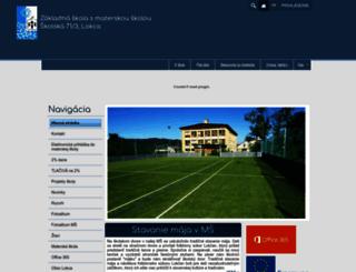 zslokca.edupage.org screenshot