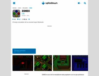 zsnes.uptodown.com screenshot