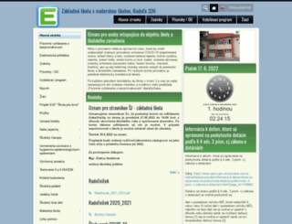 zsradola.edupage.org screenshot