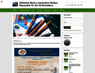 zsriazanska.edupage.org screenshot