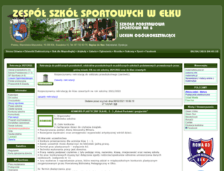 zss.elk.pl screenshot
