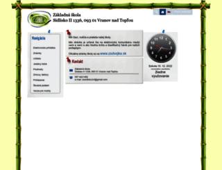 zssidlisko2vt.edupage.org screenshot