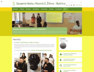 zssosza.edupage.org screenshot