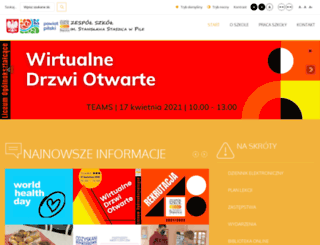 zsstaszica.pila.pl screenshot