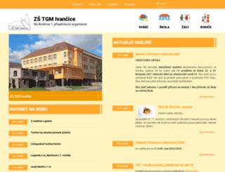 zstgmivancice.cz screenshot