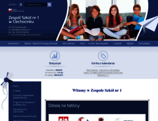 zsuciechocinek.szkolnastrona.pl screenshot