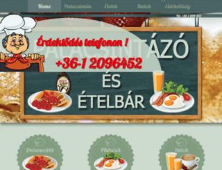 zsuzsi-palacsinta.pe.hu screenshot