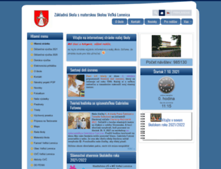 zsvlomnica.edupage.org screenshot