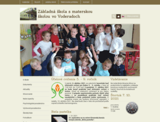zsvoderady.edupage.org screenshot