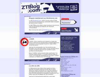 ztblog.com screenshot