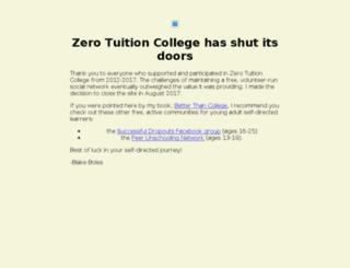 ztcollege.com screenshot