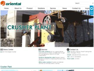ztcrusherplant.com screenshot