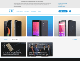 zte.es screenshot